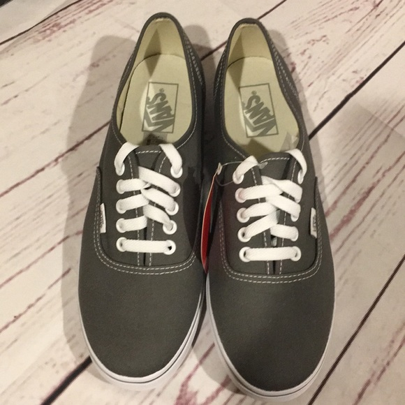 de9c75c071 Vans Off The Wall Gray Sneakers Men 8.5 Women 10